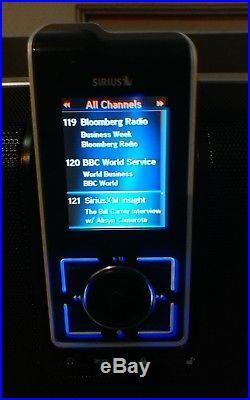 SIRIUS STILETTO SL10 BOOMBOX With Remote + Antenna + Lifetime Subscription Rare