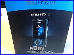 SIRIUS STILETTO SL2 RECEIVER WithPERSONAL, HOME AND VEHICLE KITS INCLUDED