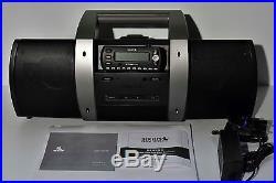 SIRIUS STRATUS 4 (SV4) XM SATTELITE RADIO & SUBX1 BOOM BOX