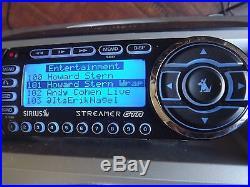 SIRIUS STREAMER GTR XM satellite radio 87.7 receiver only LIFETIME SUBSCRIPTION