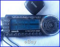 SIRIUS STREAMER GTR XM satellite radio receiver only LIFETIME SUBSCRIPTION