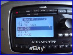 SIRIUS STREAMER SIR-STRC1 XM radio WithCar kit 87.7 -LIFETIME SUBSCRIPTION