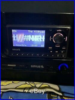 SIRIUS SUBX2 Satellite Radio Boombox with ST5 Receiver Lifetime Subscription