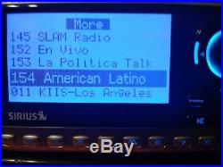 SIRIUS Sportster 4 SATELLITE possible Lifetime Activated Subscription Receiver