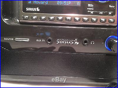 SIRIUS Sportster 5 W/Boombox-LIFETIME SUBSCRIPTION-Guaranteed or Money Back