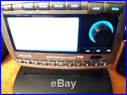 SIRIUS Sportster Replay2 Premium possible Lifetime ACTIVATED receiver Dock As Is