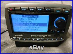 SIRIUS Sportster Replay 2 Premium possible Lifetime ACTIVATED receiver Car Dock