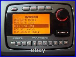 SIRIUS Sportster SPR1 SP-R1 XM radio Only 87.7 ACTIVE LIFETIME SUBSCRIPTION