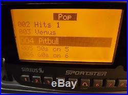 SIRIUS Sportster SPR1 SP-R1 XM satellite radio WithSPDOCK1 -LIFETIME SUBSCRIPTION