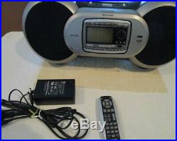 SIRIUS Sportster SPR2 SP-R2 XM Radio Receiver With Boombox LIFETIME SUBSCRIPTION