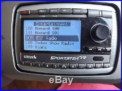 SIRIUS Sportster SPR2 SP-R2 XM radio receiver Withboombox-LIFETIME SUBSCRIPTION