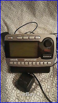 SIRIUS Sportster SP-R1 XM satellite radio - ACTIVE UBSCRIPTION WithHoward 100/101