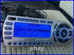 SIRIUS Sportster ST2 Satellite radio receiver with LIFETIME subscription