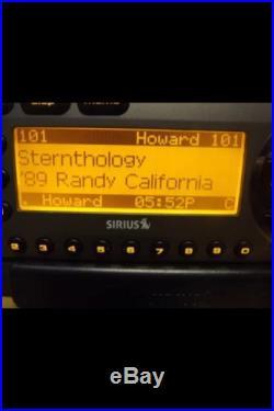 SIRIUS Starmate 3 ST3 XM satellite radio With Car Kit-LIFETIME SUBSCRIPTION