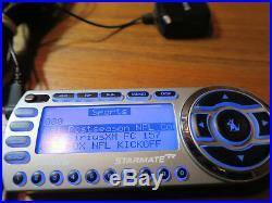 SIRIUS Starmate R XM Satellite Radio Reciever Only ACTIVE SUBSCRIPTION