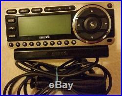 SIRIUS Starmate satellite radio receiver withcar kit LIFETIME subscription