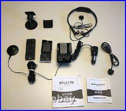 SIRIUS Stiletto 100 Portable Satellite Radio & Acc. ACTIVE LIFETIME SUBSCRIPTION