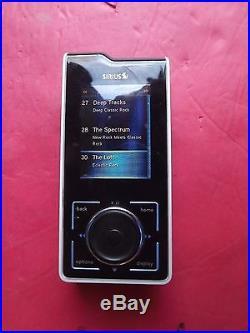 SIRIUS Stiletto SL100 XM satellite radio Receiver Only-LIFETIME SUBSCRIPTION