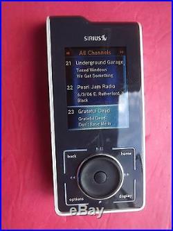 SIRIUS Stiletto SL10 XM satellite radio Receiver Only-LIFETIME SUBSCRIPTION