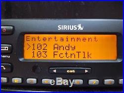SIRIUS Stratus 4 SV4 XM radio Receiver/W car kit-LIFETIME SUBSCRIPTION