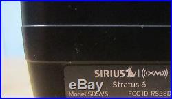 SIRIUS Stratus 6 XM Satellite Radio -LIFETIME SUBSCRIPTION