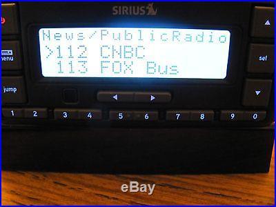 SIRIUS Stratus 6 XM Satellite Radio W/ Potential LIFETIME SUBSCRIPTION