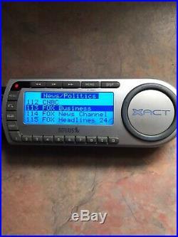 SIRIUS XACT XM radio 87.7 receiver+Remote XTR8 ACTIVE LIFETIME SUBSCRIPTION