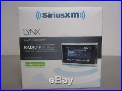SIRIUS XM LYNX SXi1 Portable Satellite Radio Receiver. Radio Kit