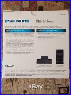 SIRIUS XM LYNX Wi-Fi Enabled PORTABLE RADIO, CAR KIT, HOME KIT LH1 BUNDLE SiriusXM