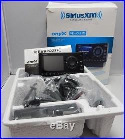 SIRIUS XM ONYX DOCK & PLAY RADIO With CAR KIT XDNX1V1
