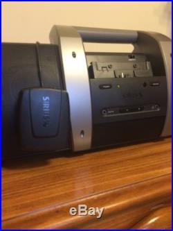 SIRIUS/XM PORTABLE SATELLITE RADIO Universal Plug 'n' Play Boombox DOCK- SUBX1R