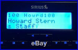 SIRIUS XM ST5R Satellite Radio With Dock TESTED Lifetime Premium Subscription
