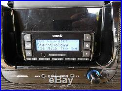 SIRIUS XM STRATUS 7 SATELLITE RADIO RECEIVER LIFETIME & SUBX2 Boombox EUC