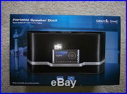 SIRIUS XM SXABB1 Portable Speaker Dock for Sirius XM Radios