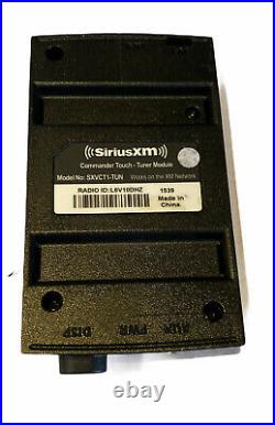SIRIUS-XM SXVCT1 Commander Touch Tuner Module, Display Unit & FM Adapter