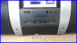 SIRIUS XM Satellite Radio SP4 WithSUBX1 Boombox & Sirius Outdoor Home Antenna