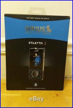SIRIUS XM Stiletto 2 + accessories + LIFETIME Activated Subscription