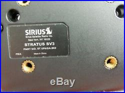 SIRIUS XM Stratus Sv3 satellite radio With Vent Car Kit P-LIFETIME SUBSCRIPTION