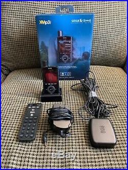 SIRIUS XM XPMP3H1 Portable Satellite Radio Receiver With Remote & XPHD1 DOCK