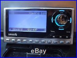 SIRIUS sp4 Sportster 4 XM satellite radio WithBoomBOX-LIFETIME SUBSCRIPTION