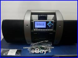 SIRIUS sp4 Sportster 4 XM satellite radio WithBoomBox - LIFETIME SUBSCRIPTION