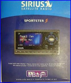 SIRIUS sp5 Sportster 5 XM satellite radio Lifetime Subscription