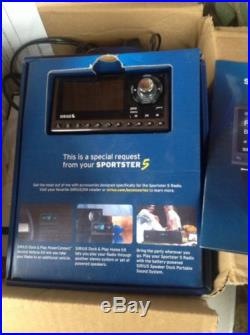 SIRIUS sp5 Sportster 5 XM satellite radio WithBoomBOX, Remote
