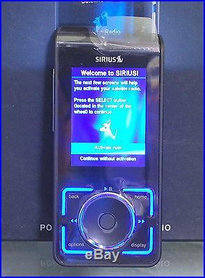 SL2 SIRIUS STILETTO 2 PORTABLE SATELLITE RADIO SL2PK1 NEW OPEN BOX