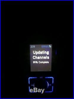 SL2 Satellite Radio Sirius Stiletto 2 Receiver only With Charger Works