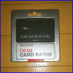 SONY transistor radio model ICF-602 (card Radio)