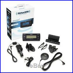Satellite Radio Sirius XM Vehicle Kit Car Antenna Music Dock Stratus 7 Black NEW