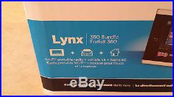 SiriusXM Lynx SXi1TK1HC Portable Radio Vehicle / Home Kit Buddle VERY RARE NEW