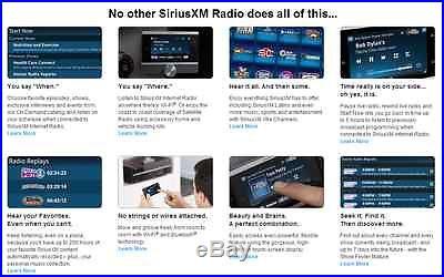 SiriusXM Lynx Satellite Radio and Car Kit