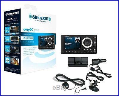 SiriusXM Onyx Plus Satellite Radio Tuner w/ Vehicle Kit and Antenna New SXPL1V1